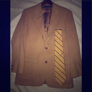 Brooks Brothers Camel Coat 100%